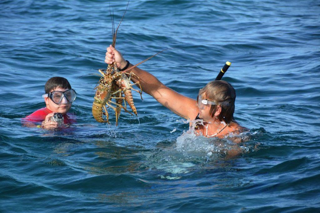 Thomas Lobster Hunting
