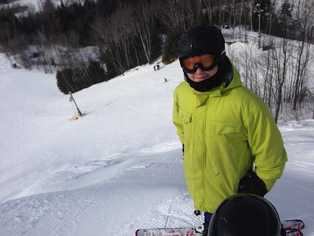 Thomas Skiing