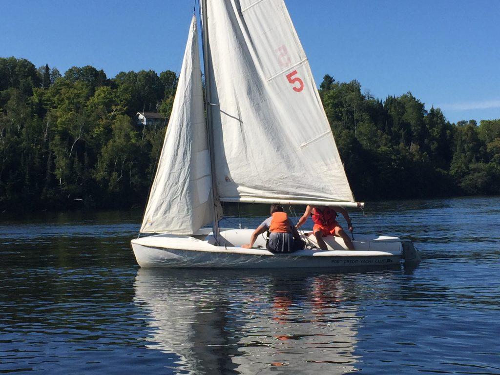 420 Dinghy Sailing